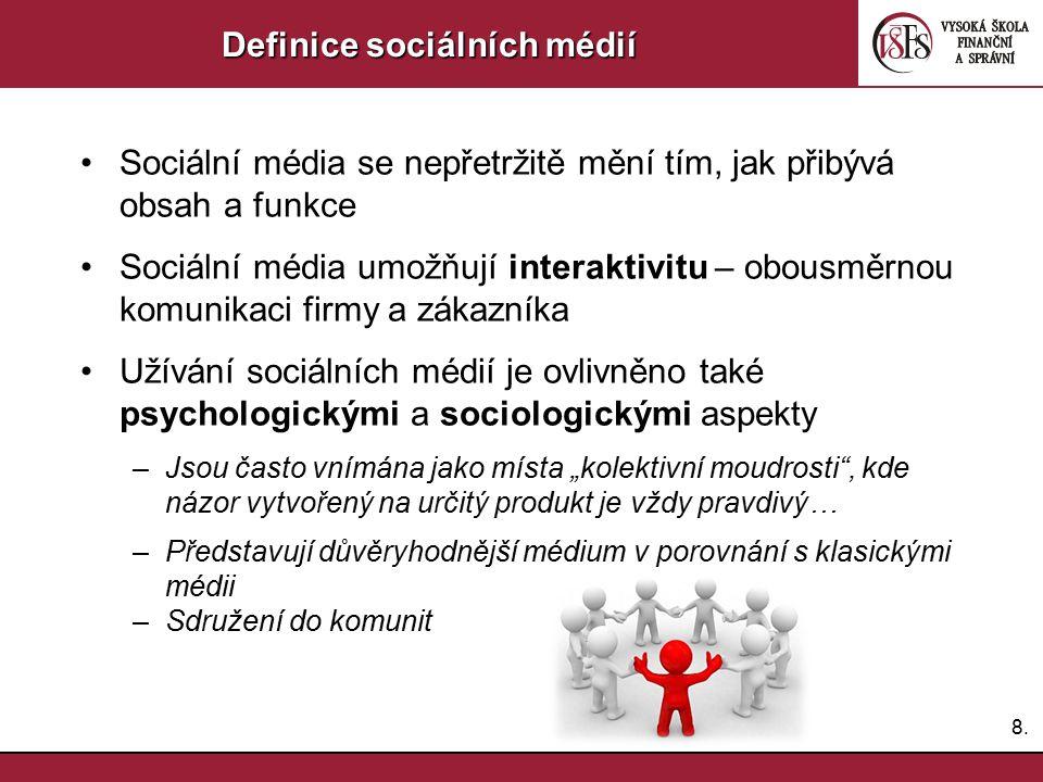 Definice sociálních médií