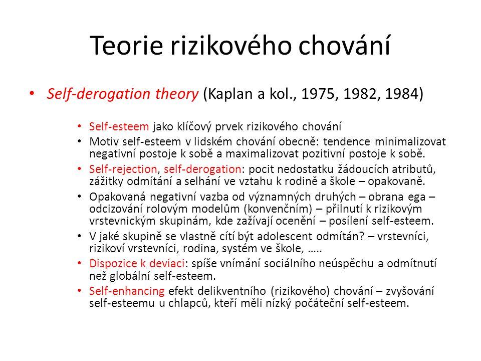 Teorie rizikového chování