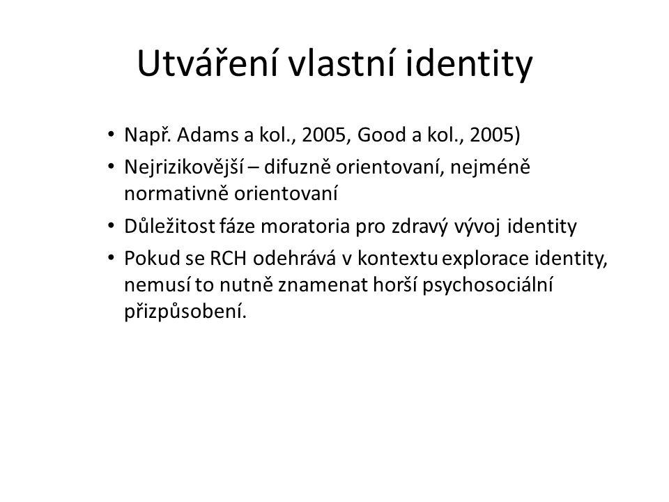 Utváření vlastní identity