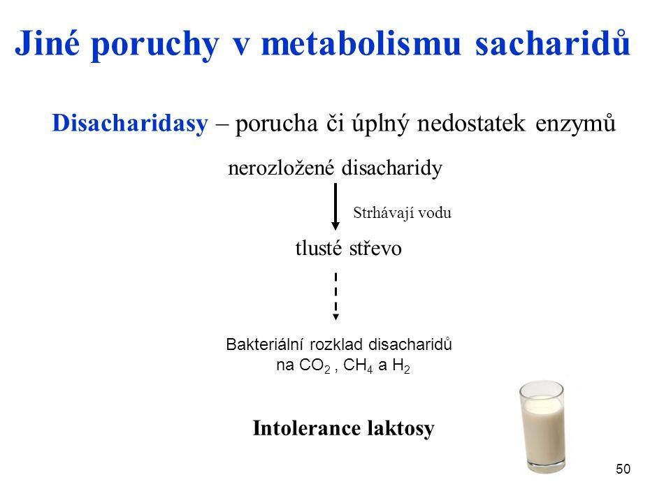 nerozložené disacharidy