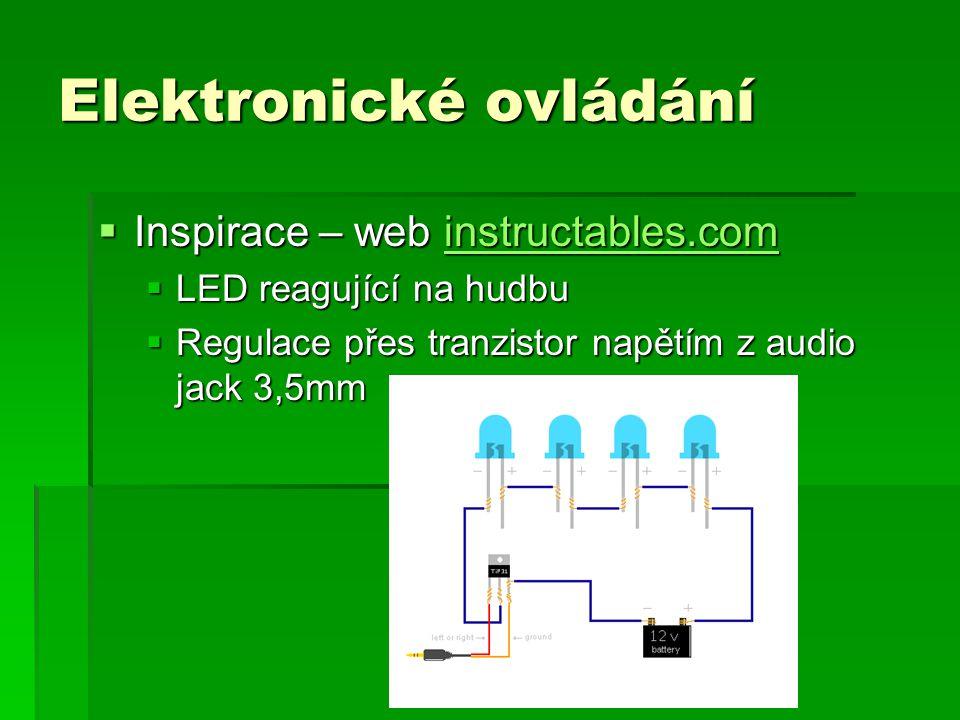 Elektronické ovládání
