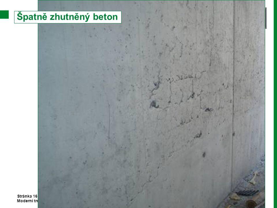 Špatně zhutněný beton Stránka 16