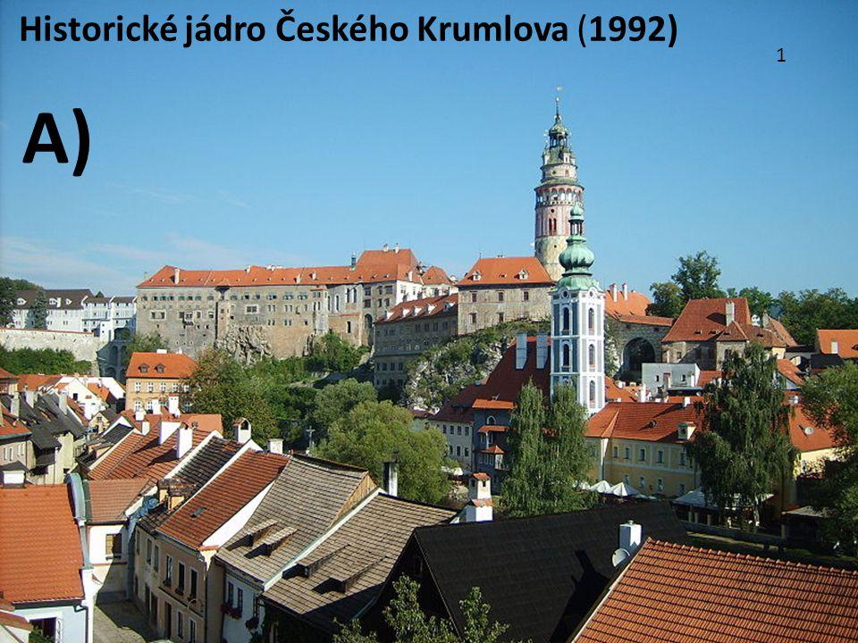 Historické jádro Českého Krumlova (1992)