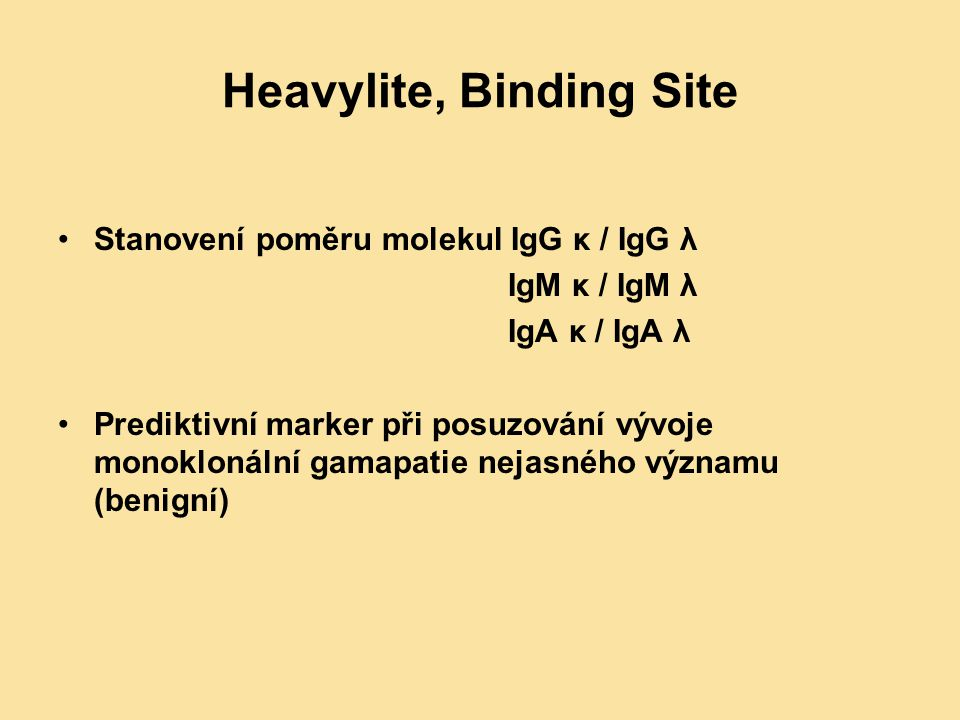 Heavylite, Binding Site