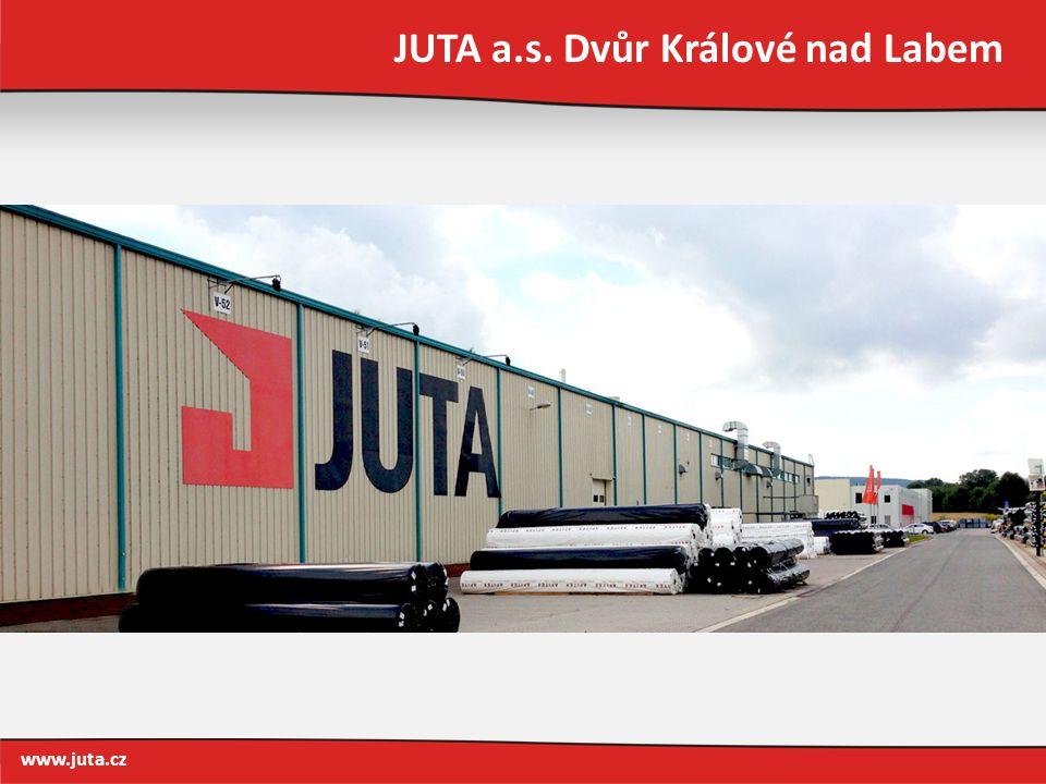 JUTA a.s. Dvůr Králové nad Labem