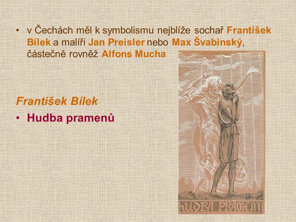 František Bílek Hudba pramenů