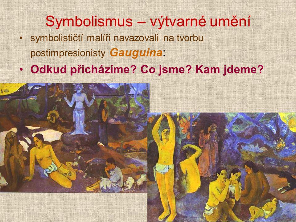 Symbolismus – výtvarné umění