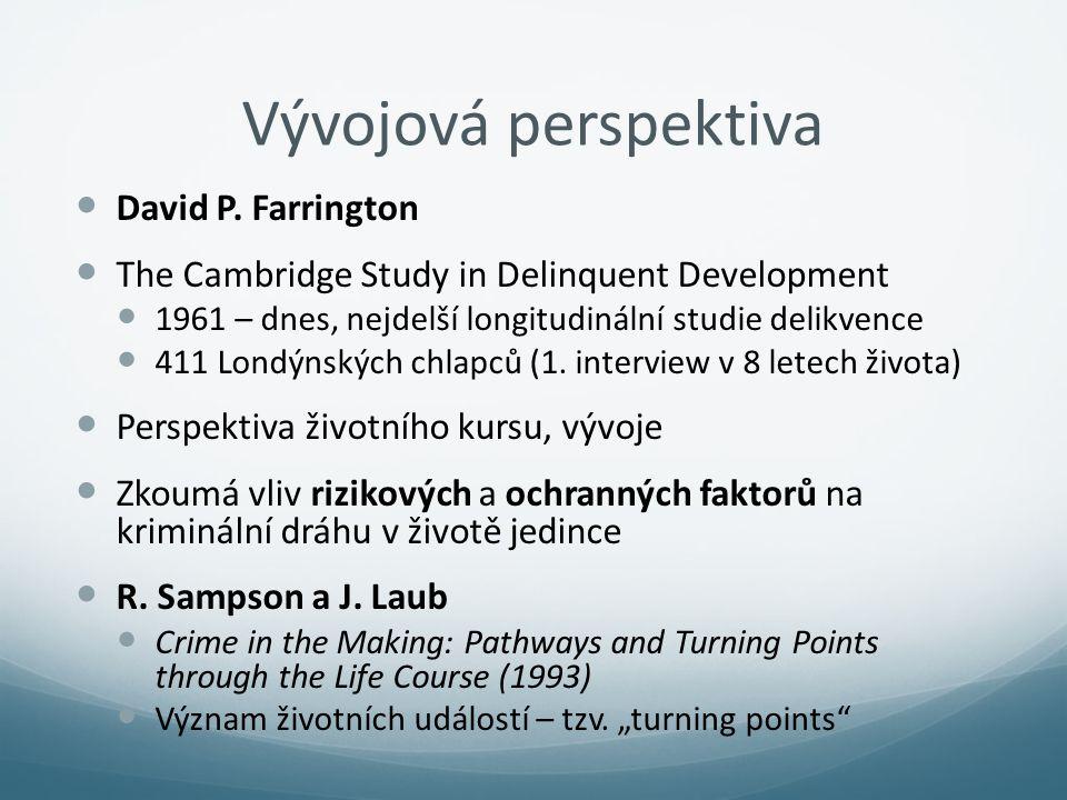 Vývojová perspektiva David P. Farrington