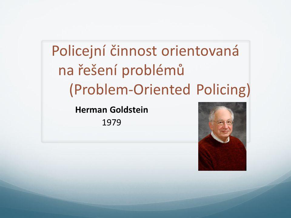 Policejní činnost orientovaná na řešení problémů