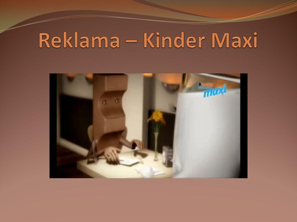 Reklama – Kinder Maxi