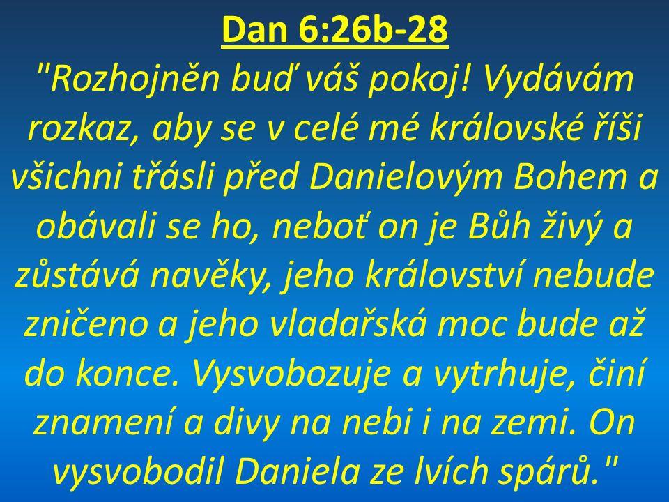 Dan 6:26b-28