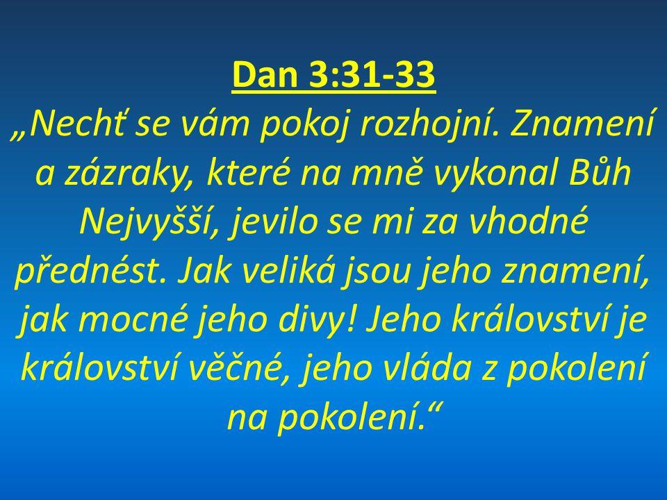 Dan 3:31-33