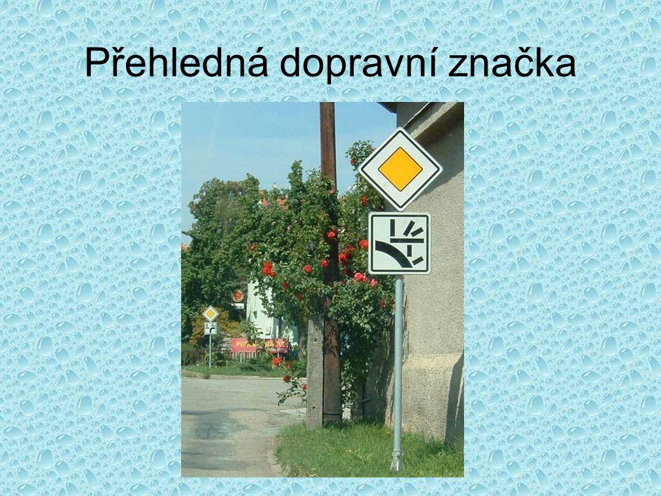 Přehledná dopravní značka