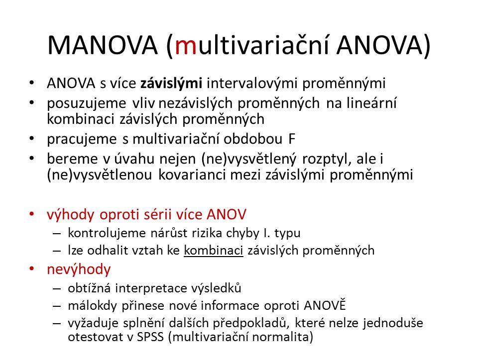 MANOVA (multivariační ANOVA)