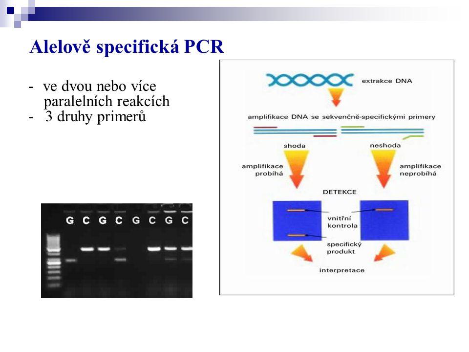 Alelově specifická PCR