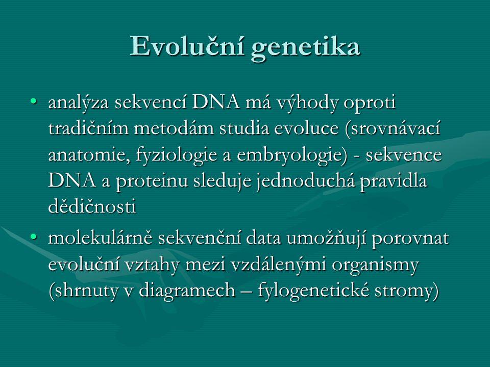 Evoluční genetika