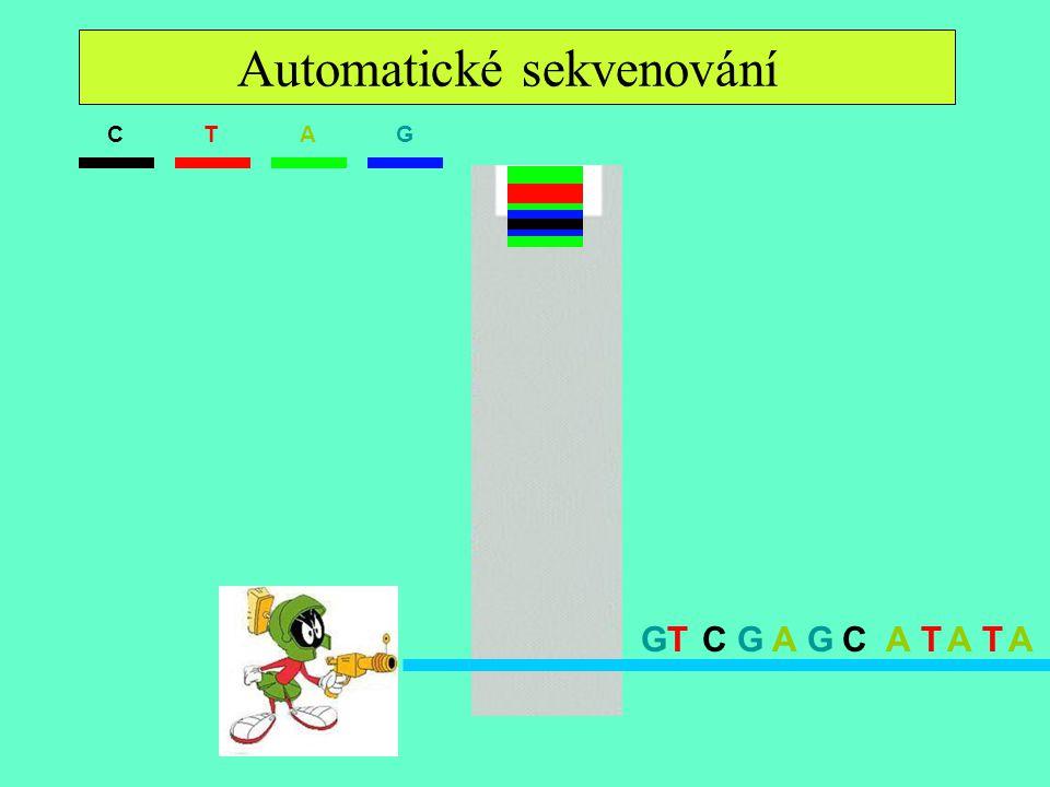 Automatické sekvenování