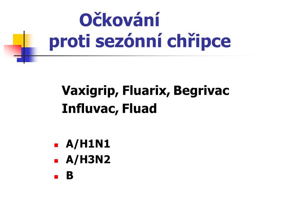 Očkování proti sezónní chřipce