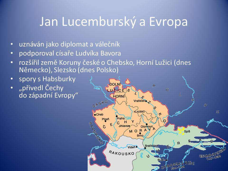 Jan Lucemburský a Evropa