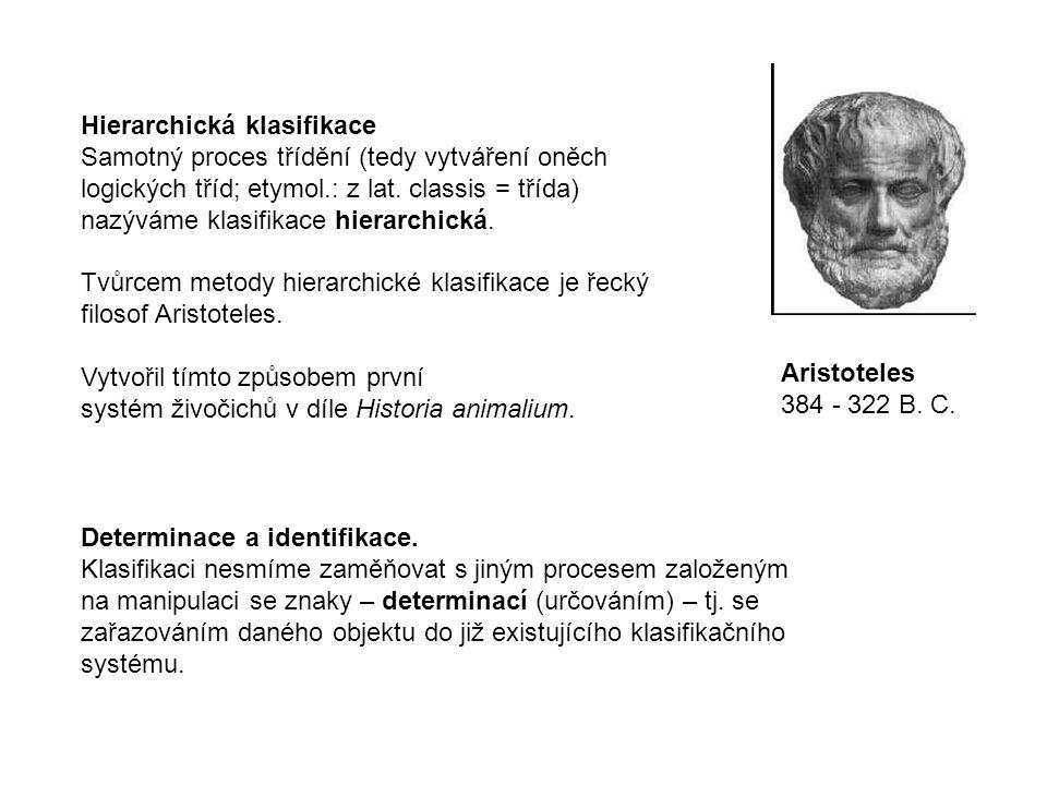 Hierarchická klasifikace