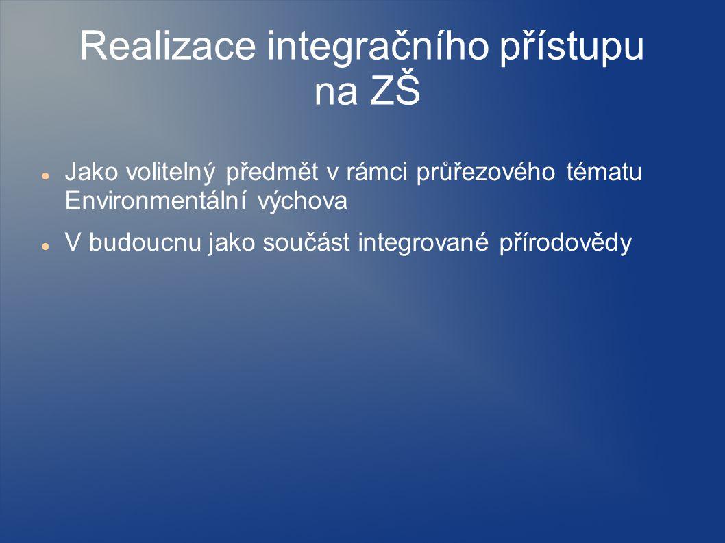 Realizace integračního přístupu na ZŠ