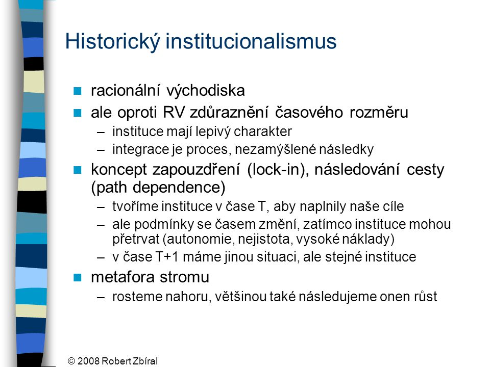 Historický institucionalismus