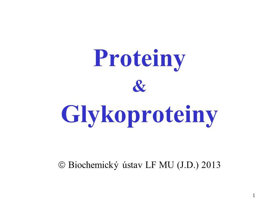 Proteiny & Glykoproteiny
