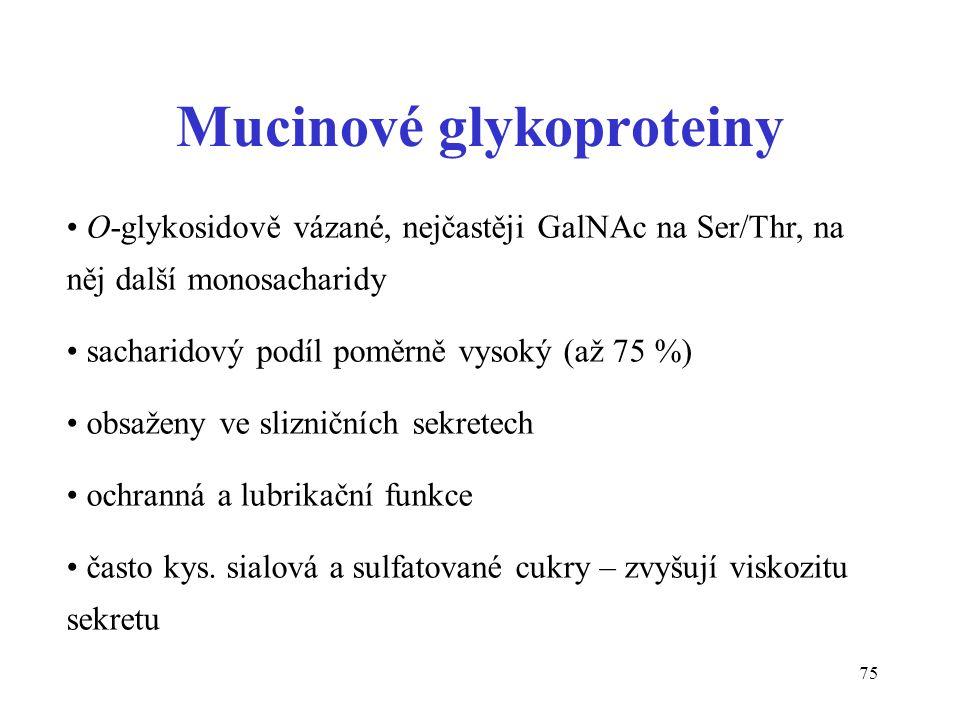 Mucinové glykoproteiny