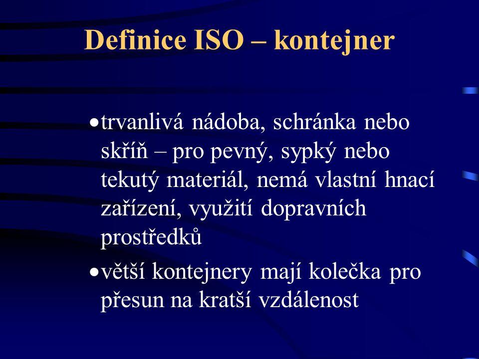 Definice ISO – kontejner