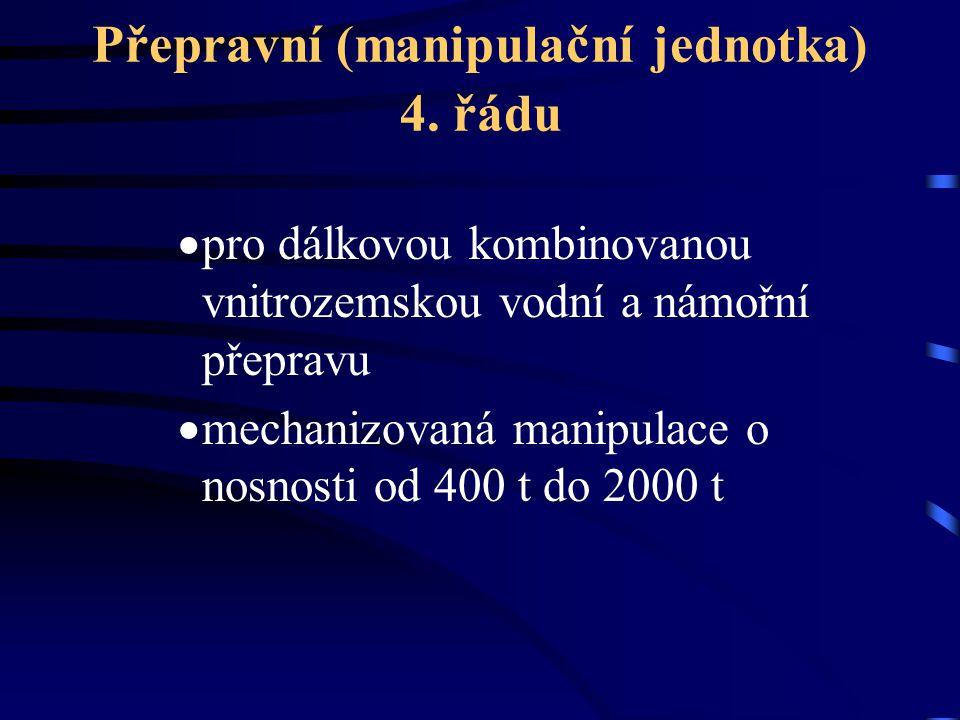 Přepravní (manipulační jednotka) 4. řádu