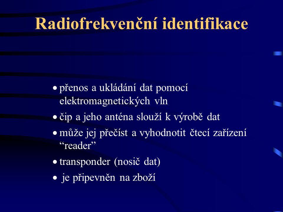 Radiofrekvenční identifikace