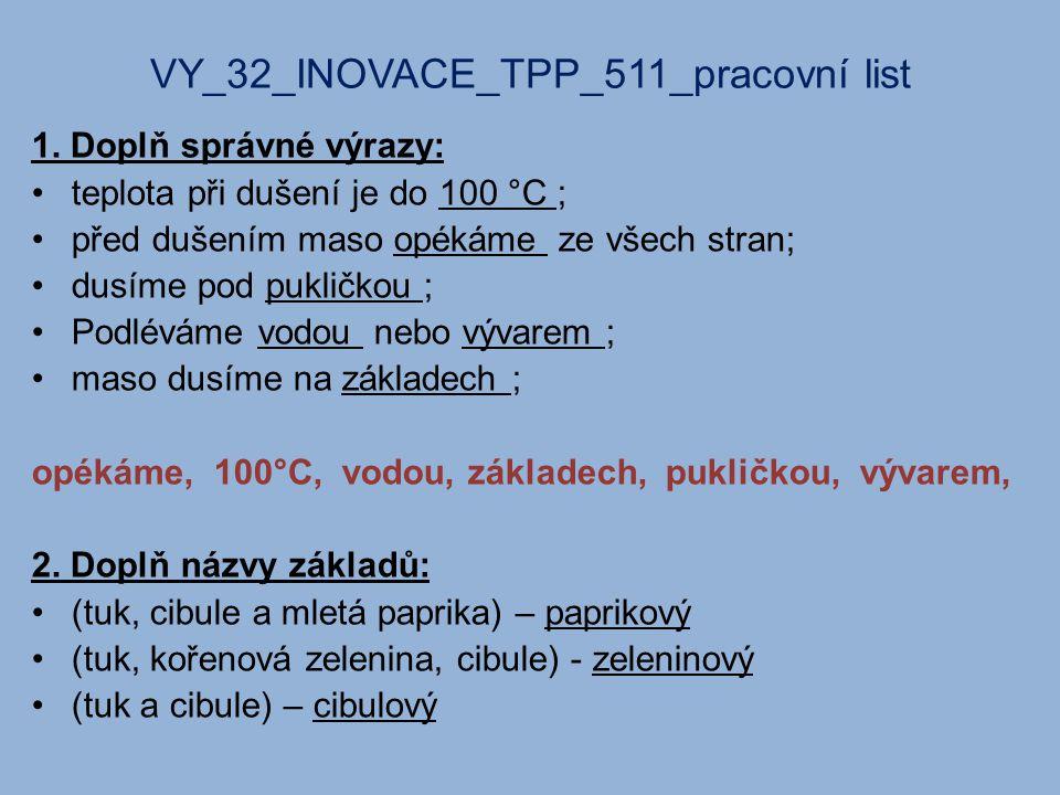VY_32_INOVACE_TPP_511_pracovní list