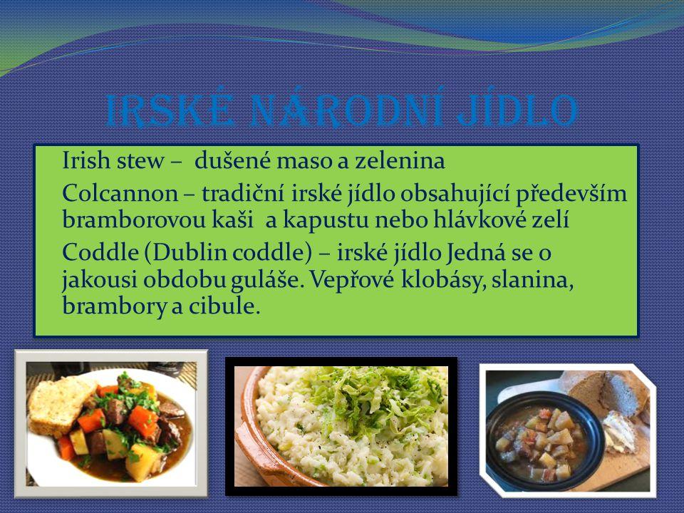 Irské národní jídlo Irish stew – dušené maso a zelenina