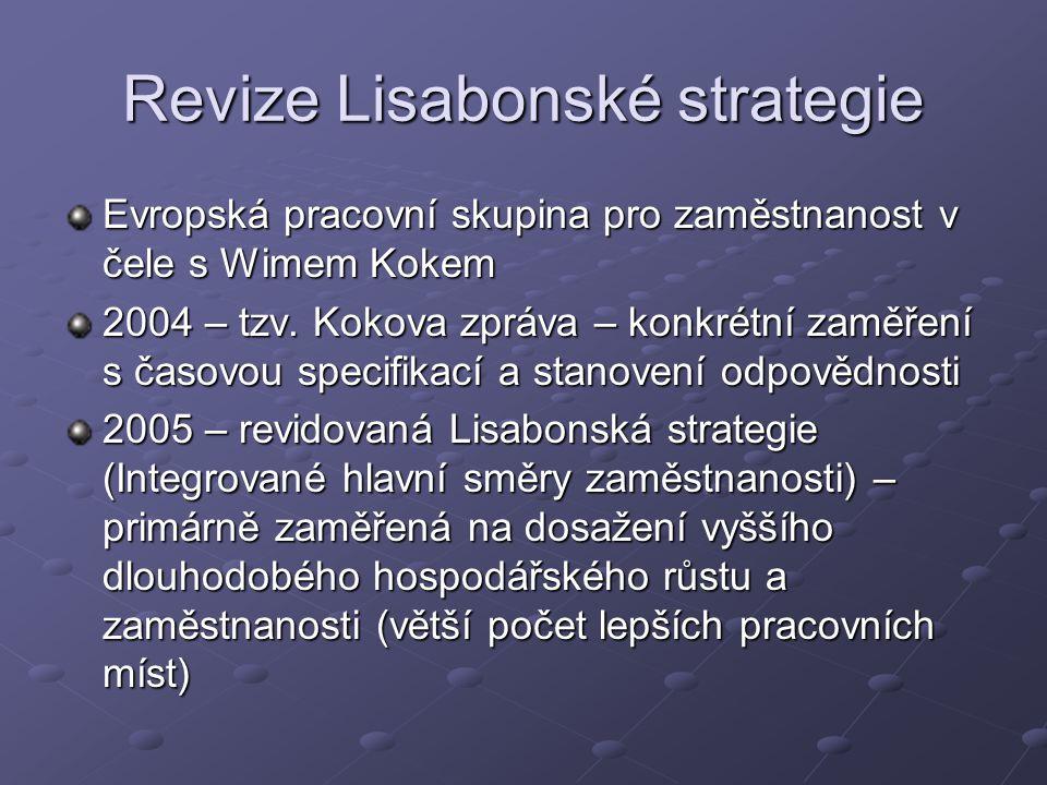 Revize Lisabonské strategie