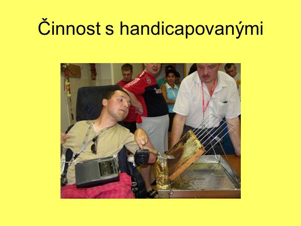 Činnost s handicapovanými