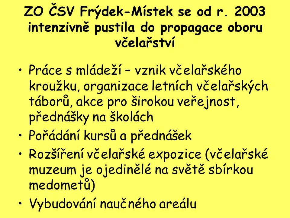 ZO ČSV Frýdek-Místek se od r