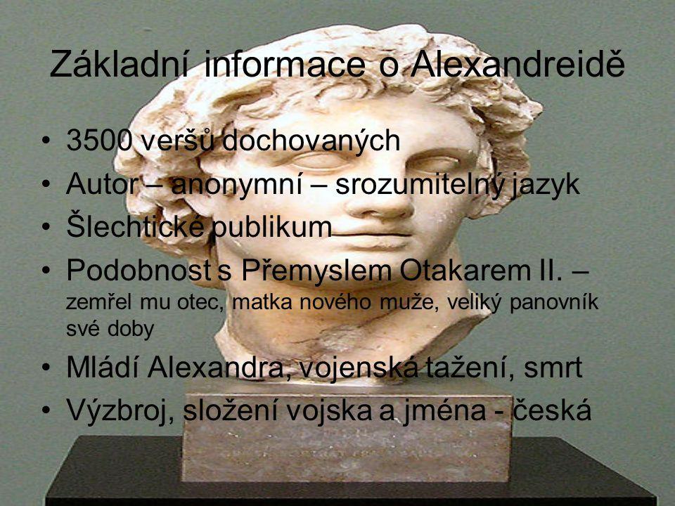 Základní informace o Alexandreidě