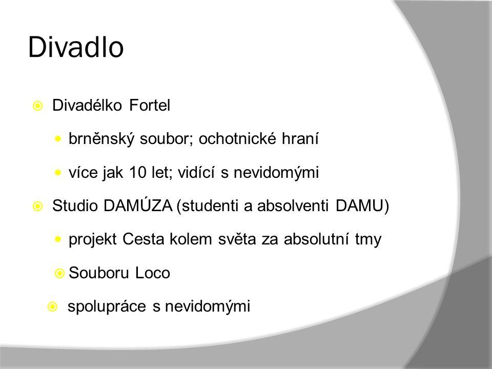 Divadlo Divadélko Fortel brněnský soubor; ochotnické hraní