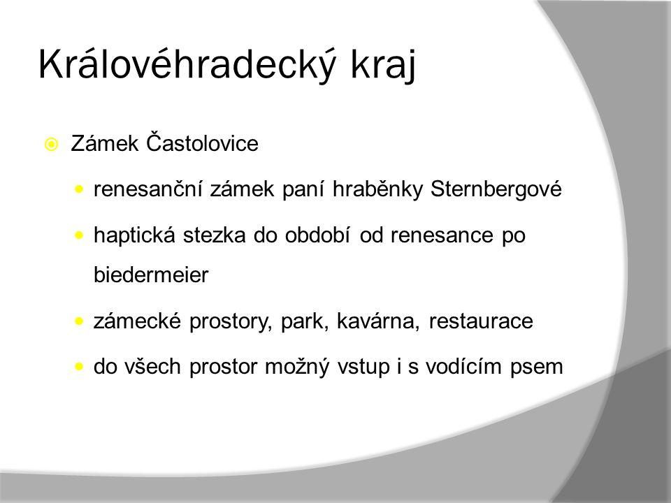 Královéhradecký kraj Zámek Častolovice