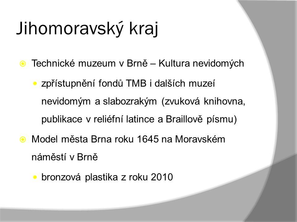 Jihomoravský kraj Technické muzeum v Brně – Kultura nevidomých