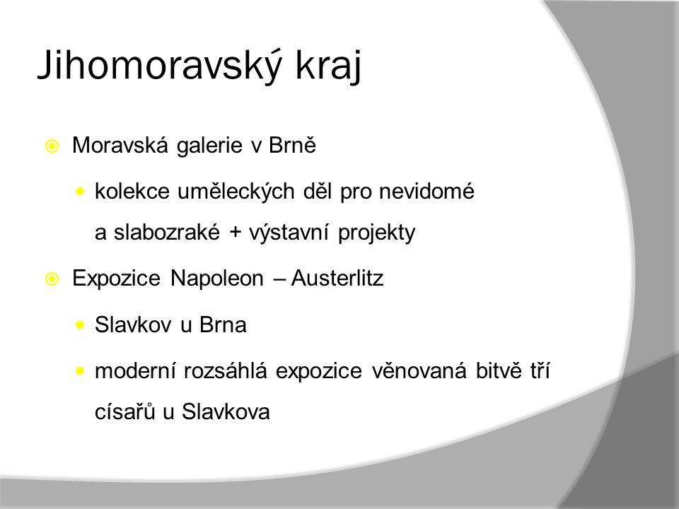 Jihomoravský kraj Moravská galerie v Brně