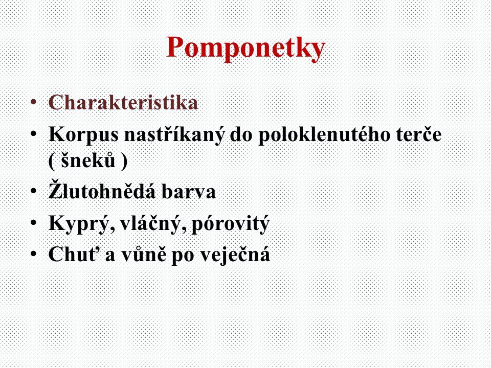 Pomponetky Charakteristika