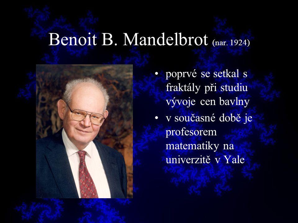 Benoit B. Mandelbrot (nar. 1924)
