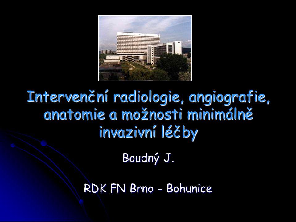 Boudný J. RDK FN Brno - Bohunice