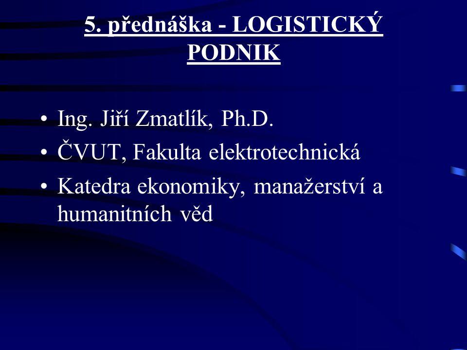 5. přednáška - LOGISTICKÝ PODNIK