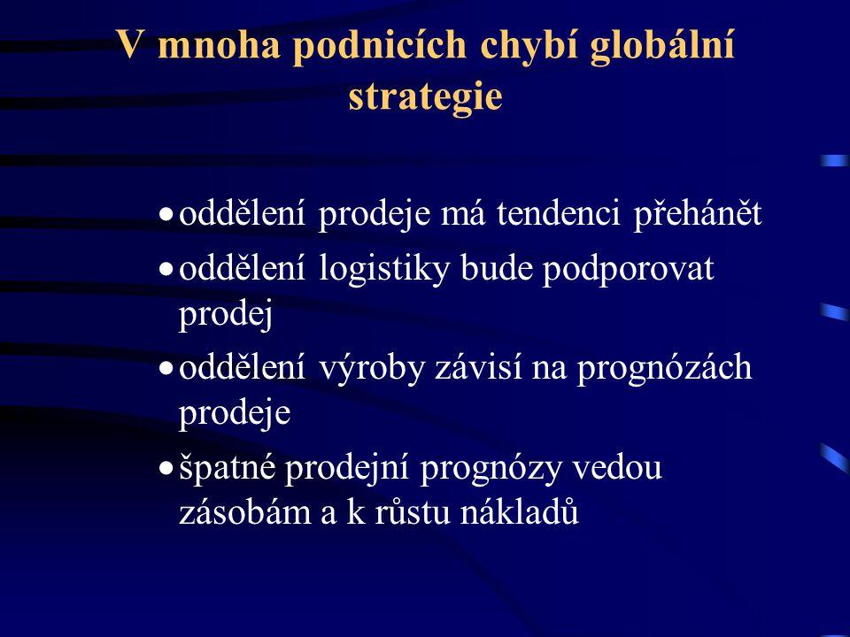 V mnoha podnicích chybí globální strategie