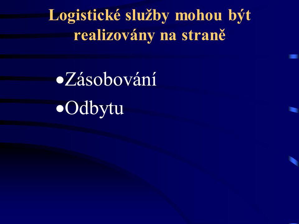 Logistické služby mohou být realizovány na straně