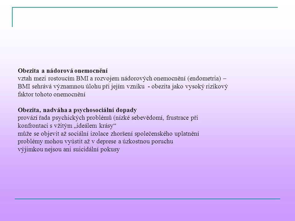 Obezita a nádorová onemocnění