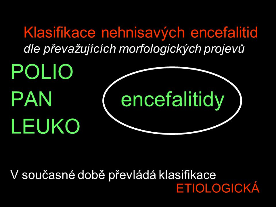 POLIO PAN encefalitidy LEUKO