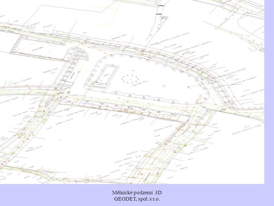 Mělnické podzemí 3D GEODET, spol. s r.o.